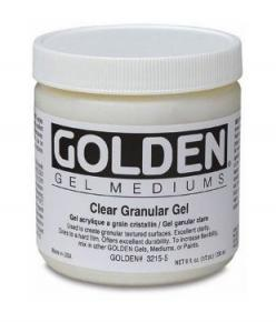 Golden Clear Granular Gel Medium