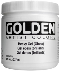 Golden Heavy Gel Medium (Gloss)