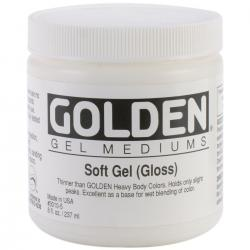 Golden Soft Gel Medium (Gloss)